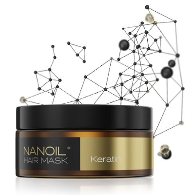 la migliore maschera per capelli Nanoil Keratin Hair Mask
