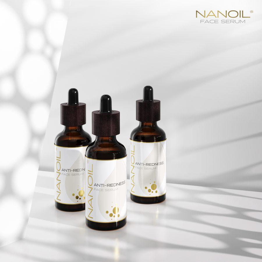 siero anti-rossore viso più votato Nanoil